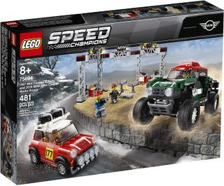 LEGO SPEED CHAMPIONS 75894 - MINI COOPER S RALLY..