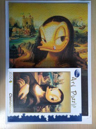 PUZZLE 1000 PIEZAS ART DISNEY