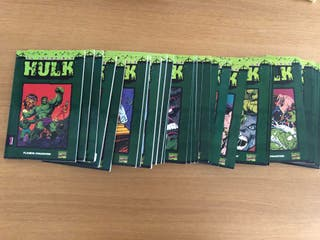 30 volúmenes de Hulk. Marvel Comics