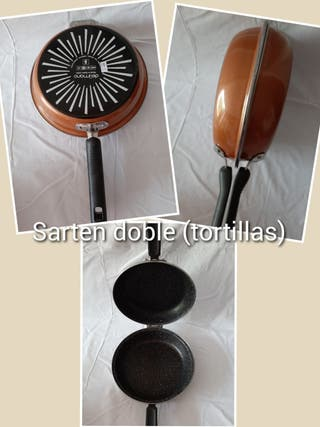 sarten tortillas doble