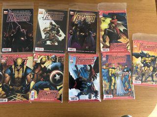 Los Nuevos Vengadores 1-9. Marvel Comics.
