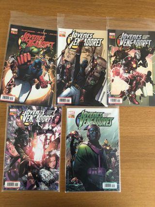 Jóvenes Vengadores 1-5. Marvel Comics