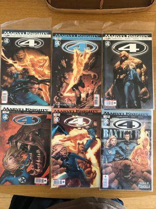 Marvel Knights: Los 4 fantásticos 1-6. Comics