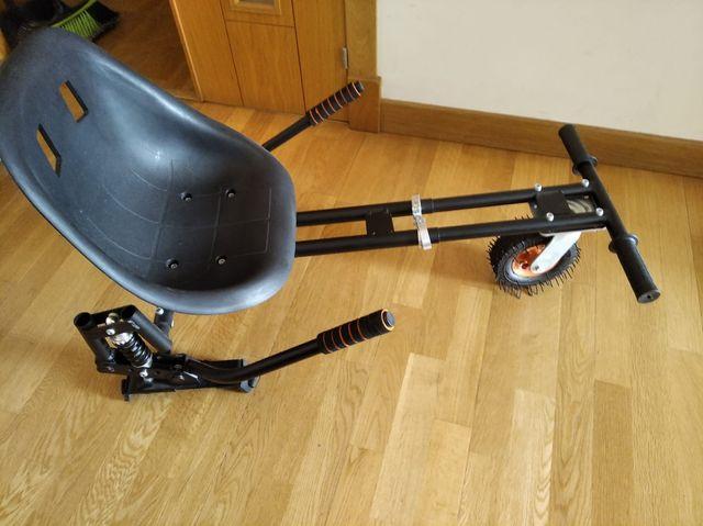 asiento de patinete eléctrico.
