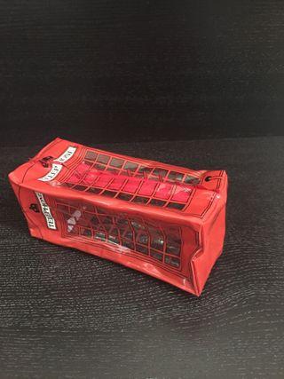 Estuche/ neceser cabina teléfonos inglesa