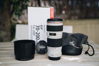 Canon 70-200 f4 L (copito)