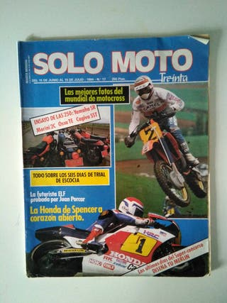 Solo Moto. Yamaha, Morini, Ossa, Cagiva.