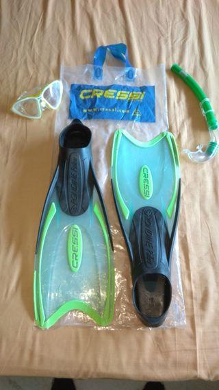 kit de snorkel CRESSI