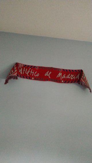 bufanda del Atlético de Madrid