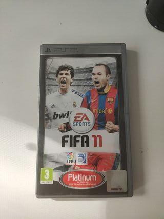Videojuego FIFA 11 PSP