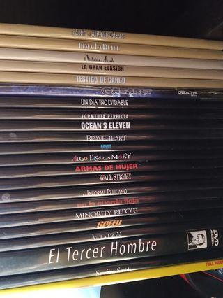 PACK DVD's. - 22 títulos -