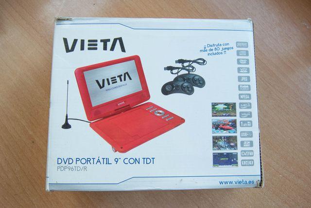 DVD portatil coche 9 pulgadas