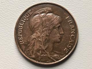 MONEDA 5 Céntimos. FRANCIA. AÑO 1916
