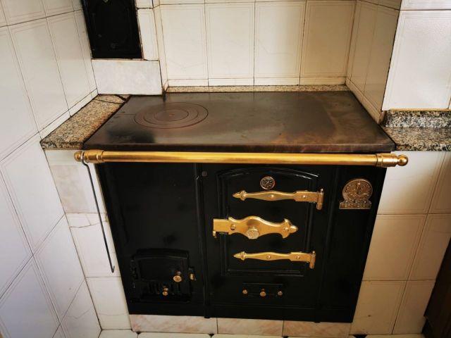 Cocina de leña Lacunza