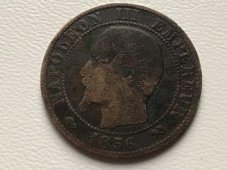 MONEDA 5 Céntimos. FRANCIA. AÑO 1856