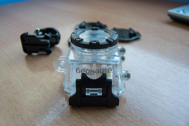 Carcasa sumergible + accesorio