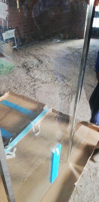 Mampara de ducha Mobil y fija 50x75 cm