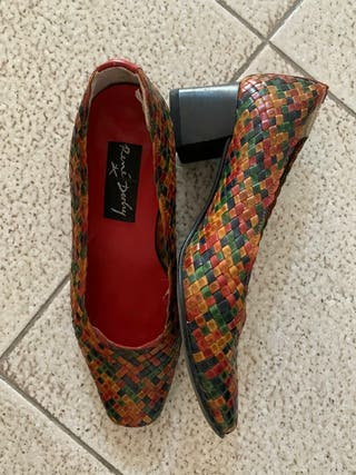 zapatos trenzados