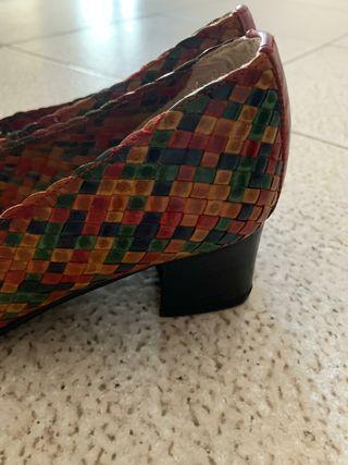 zapatos trenzados talla 36
