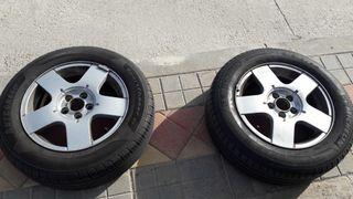 5 ruedas con llantas aluminio 5x100 195/65 R15 91V