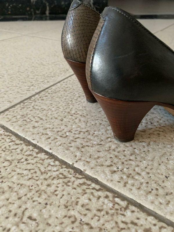 zapatos de piel talla 35,5