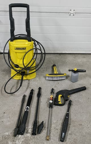 hidrolimpiadora karcher poco uso y accesorios