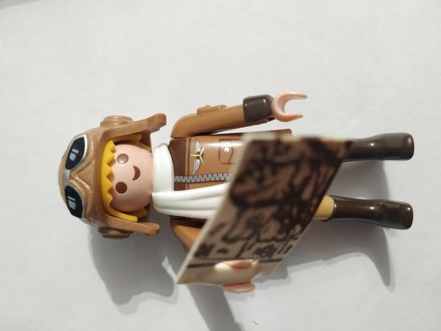 Piloto 1. Series 13. Playmobil 9332