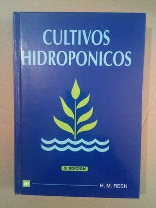 cultivos hidroponicos. libro.