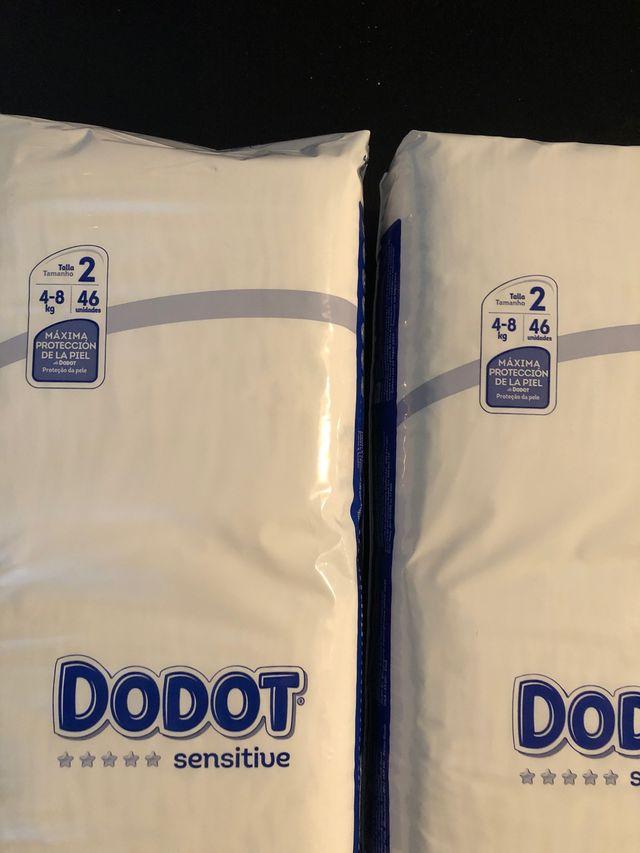 Pañales dodot sensitive pack 46 Unid talla 2 nuevo