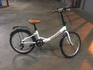 Bicicleta Moma Plegable Top Class 24