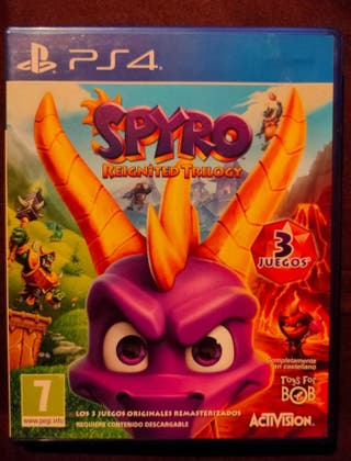 Spyro trilogia ps4