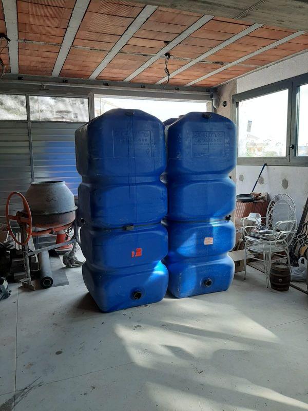 Depósito de agua de 1000litros
