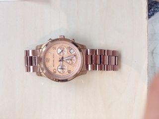 Reloj michael kors oro rosa
