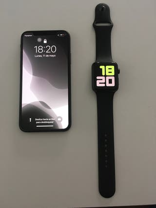 Iphone xs y apple watch 3
