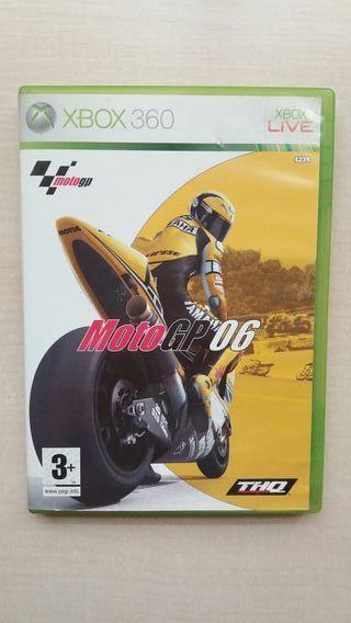 Videojuego Moto GP 06. Xbox 360.