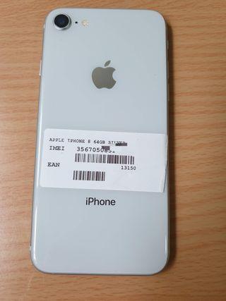 IPHONE 8 NORMAL DE 64GB ORIGINAL DE APPLE LIBRE
