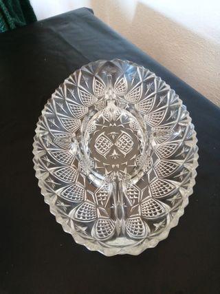 Bandeja aperitivo cristal
