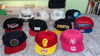 Pack de gorras
