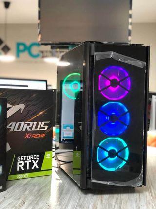 Espectacular ordenador gaming I9 con 2080Ti 11GB