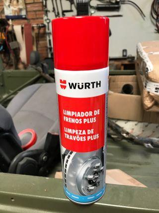 Limpiador de frenos wurth
