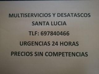 DESATASCOS SANTA LUCIA