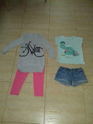 ropa niña talla 7 y 8 años