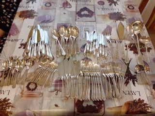 Cubiertos de plata 925