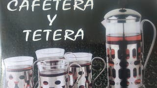 Tetera/cafetera con 4 tazas