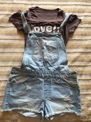 Conjunto peto y camiseta