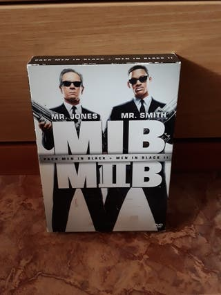 DVD MEN IN BLACK I Y II