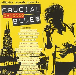 Various - Crucial Chicago Blues CD