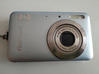 Cámara fotos compacta HP
