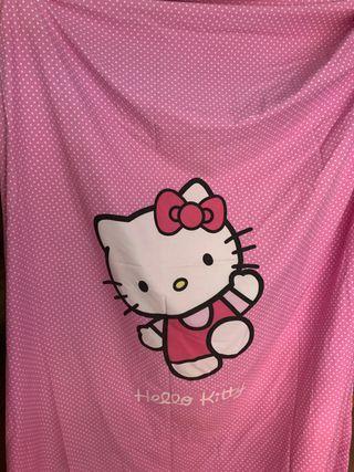 Funda nórdica Hello Kitty y funda nórdica hadas