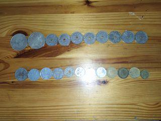 monedas de España pesetas /centimos
